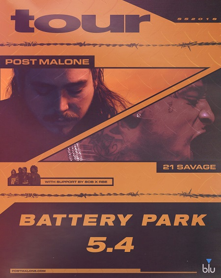 Tickets | POST MALONE WITH 21 SAVAGE | Hard Rock Hotel