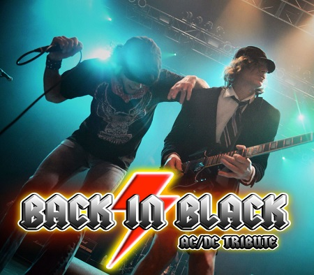 BACK IN BLACK - AC/DC TRIBUTE